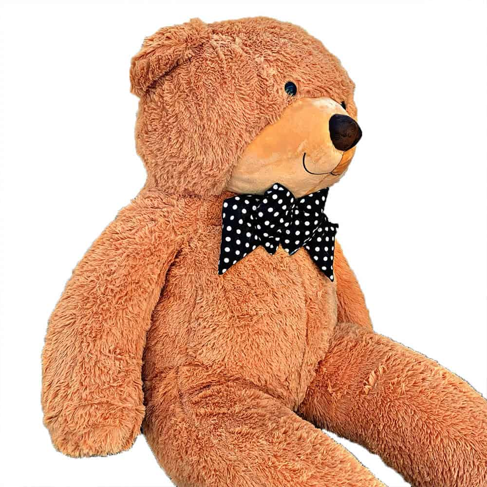 דובי מטר וחצי כתום בהיר